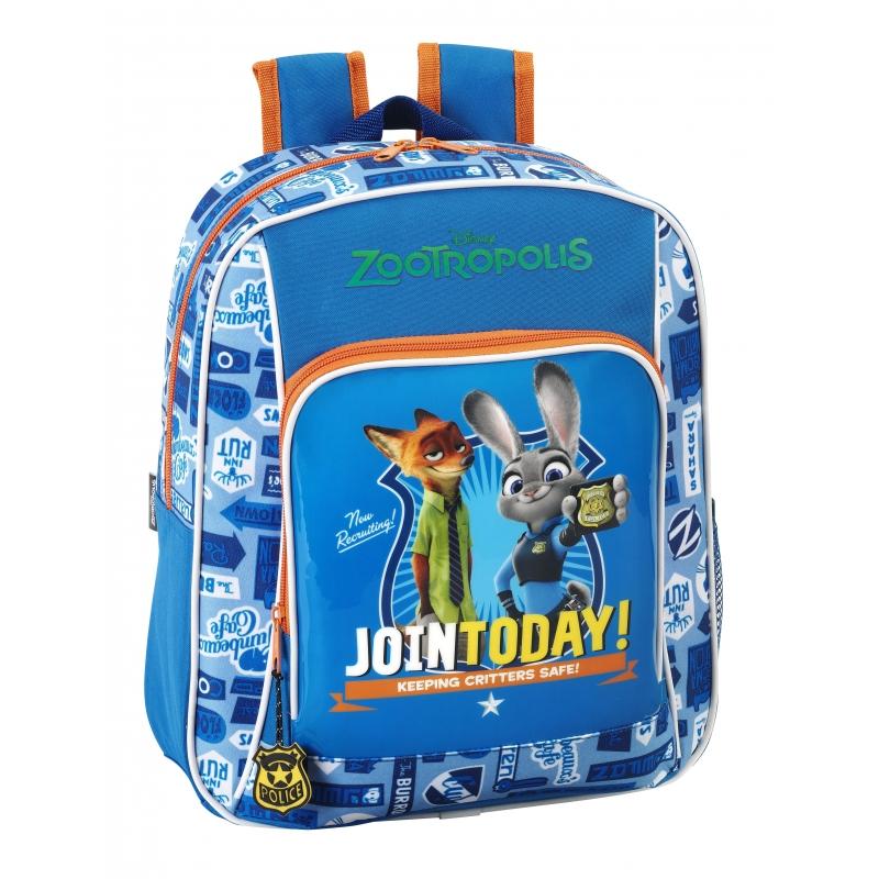 ee217e732b Σχολικά    Τσάντες    Disney Τσάντα Παιδικού   Νηπιαγωγείου Zootropolis