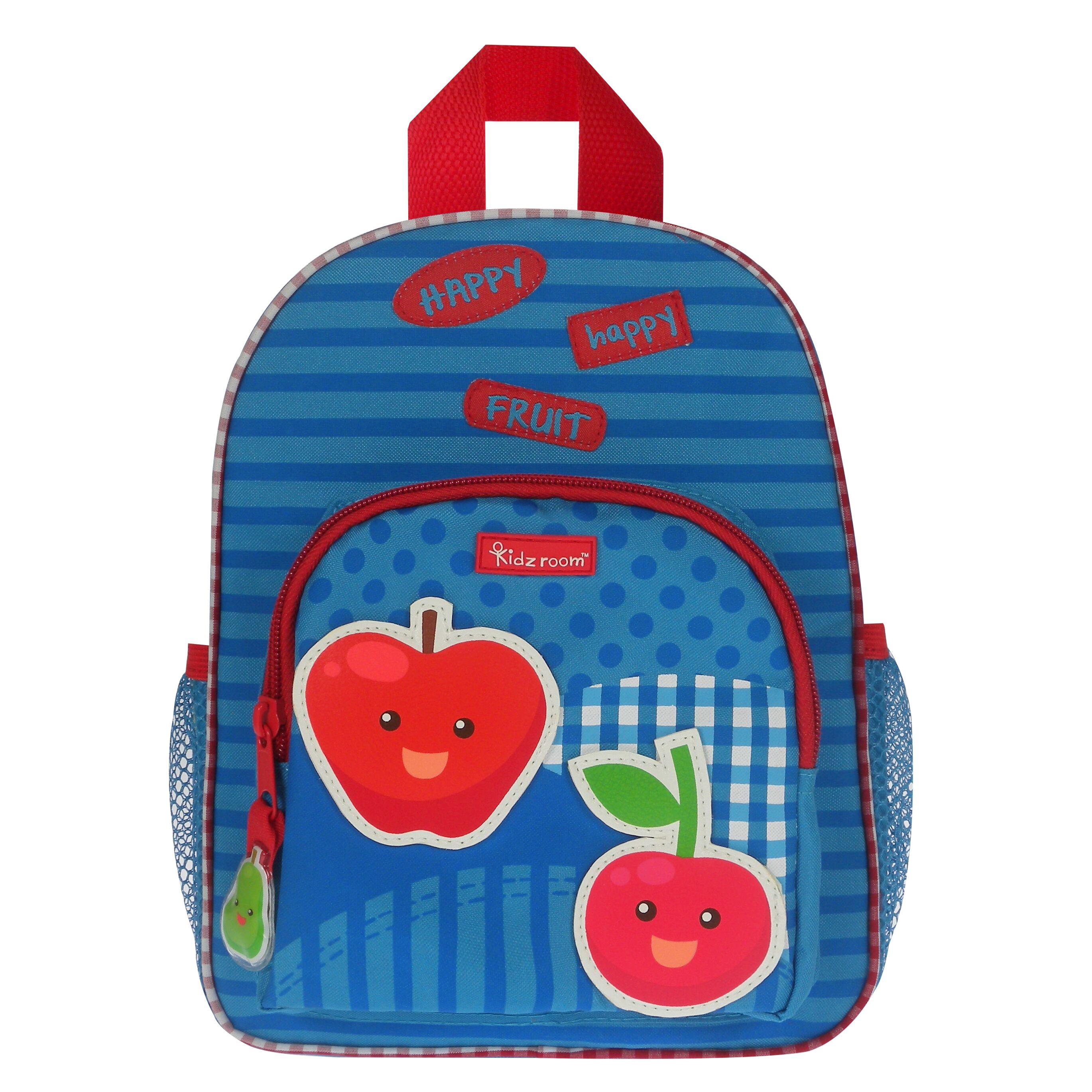 81665e86017 Σχολικά - Βιβλία :: Σχολικές Τσάντες :: Σακίδιο Πλάτης Kidzroom Veggies  Happy Fruit